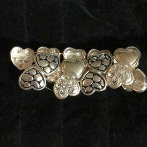"""7"""" Beautiful Hearts Bracelet"""